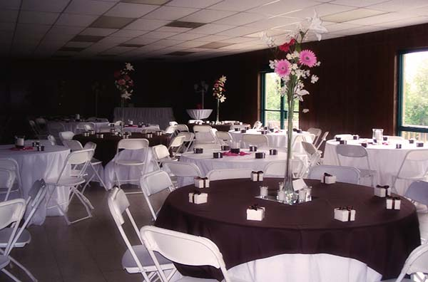 A photo of our Banquet Hall.